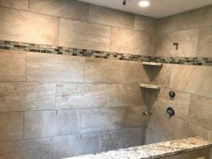 Beverly shower remodel